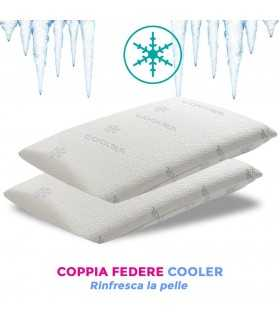 Coppia federe cooler rinfrescanti per cuscini