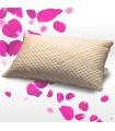 Cuscino memory foam economico con tessuto cotone anallergico soffice e alto 15 cm - Fiocco memory