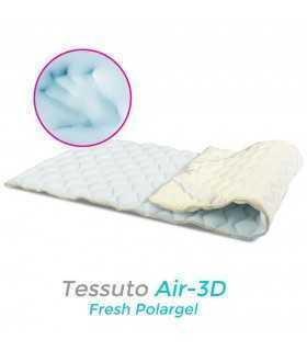 Topper rinfrescante e traspirante per materasso