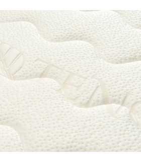 Materasso VERO lattice naturale a ZONE differenziate e tessuto BIO H22