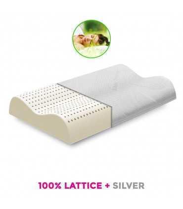 Cuscini In Lattice Opinioni.Copy Of Cuscino Anallergico In 100 Lattice Alto 15 Cm Salutare