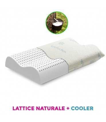 Pirelli Cuscini Lattice.Cuscino Cervicale In Lattice Di Origine Naturale E Tessuto Aloe