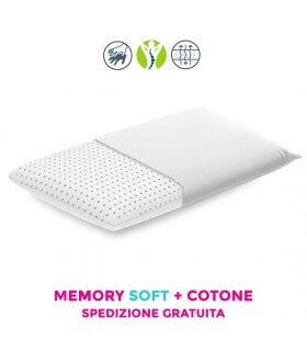 Cuscino letto in memory foam morbido