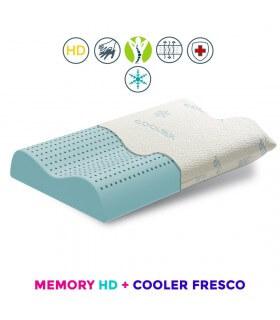 cuscino cervicale con tessuto rinfrescante