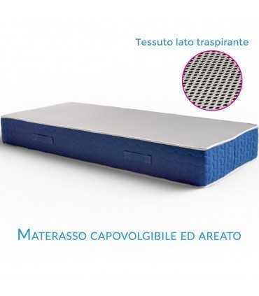 Materasso Economico Water Foam Ortopedico Semi Rigido H17